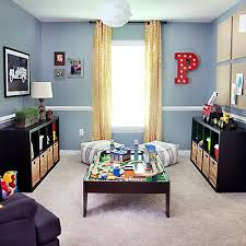 Playroom Makeover // 7thhouseontheleft.com :: would be a great starting off  point. Playroom Color SchemePlayroom ...