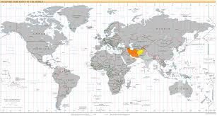 afghanistan time zones map