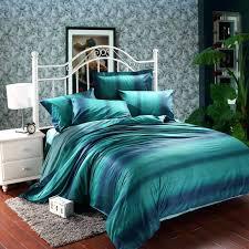 teal blue bedding dark