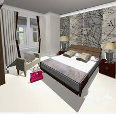 bedroom design uk. Interesting Design Modern Bedroom Design  Computer Visual For Master Bedroom In Teddington  Home Showing Feature Wallpaper And Uk D