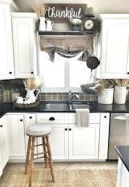Farm House Kitchens Bouquets Of Grain And Woven Accents White