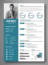 Curriculum Word Plantilla Cv Infografia Vigo
