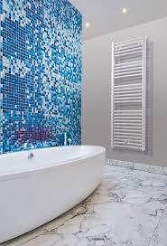 Hot water towel radiator / metal / contemporary / vertical - RICHMOND PLUS