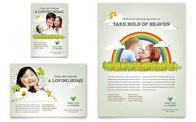 print ad templates foster care adoption flyer template from stocklayouts flyer