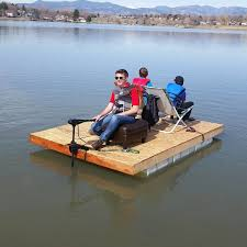 picture of homemade pontoon boat