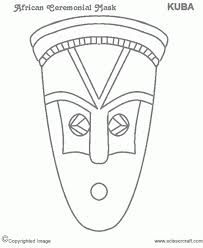 Small Picture African Mask Coloring Pages African Tribal Mask Coloring Pages
