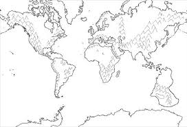 Download Coloring Pages. World Map Coloring Page: World Map ...