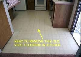 removing vinyl flooring from concrete how to remove tile linoleum