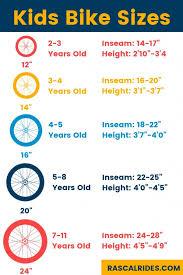 Child Bike Size Chart Kids Bike Sizes 3 Tips For Picking The Best Sized Bike