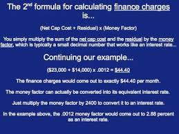 How To Calculate Car Lease Payments Youtube