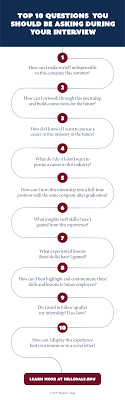 Best Questions To Ask After An Interview Top 10 Questions You Should Be Asking During Your Internship