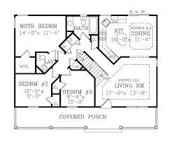 ASHEVILLE SMALL COTTAGE   Bedrooms and   Baths   The    First Floor Plan
