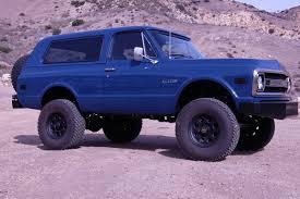 Blazer chevy blazer : This Customized '69 Chevy Blazer From the Mad Geniuses at Icon 4x4 ...