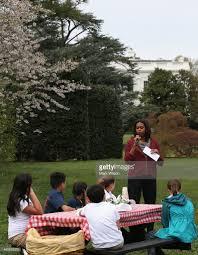 Michelle Obama Kitchen Garden Schoolchildren Help Michelle Obama Plant 7th White House Kitchen