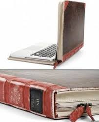 old book laptop cover because all objects want to be books