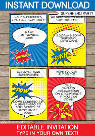 superheroes party invites superhero party invitations superhero birthday party