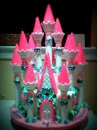 Large Princess Castle Cake