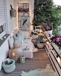 how to make a cozy terrace balcony