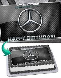 Get reviews, hours, directions, coupons and more for mercedes grocery at 9209 37th ave, jackson heights, ny 11372. Mercedes Benz Edible Image Cake Topper Party Personalized 1 4 Sheet Amazon Com Grocery Gourmet Food