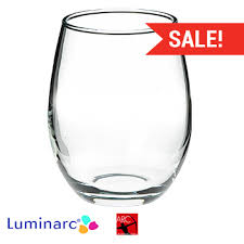 9 oz perfection stemless whole wine glass