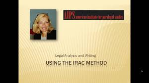 Maybe you would like to learn more about one of these? Paralegal Legal Writing Using The Irac Method Youtube
