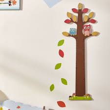 Woodland Growth Chart Details About Kids Childrens Enchanted Woodland Tree Owls Growth Chart New