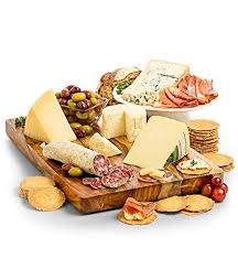 gifttree italian cheese and charcuterie gift basket variety of italian with gourmet cheeses and
