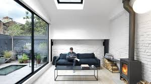architecture houses interior. Threefold Architects Updates London Mews House With Monochrome Interiors And Rustic Details Architecture Houses Interior