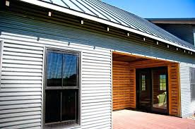 rusted corrugated metal siding for with galvanized steel menards met metal siding
