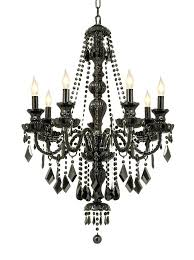 lovely crystals for chandeliers gallery crystal jet black 7 light chandelier pendant black glass cleaning chandelier