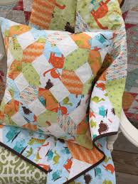 Easy Baby quilt kits | SewMod & Dinosaur fabric 18
