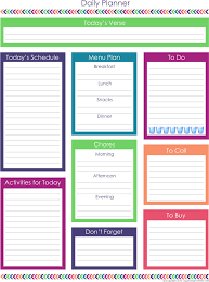 Student Daily Planner With Subjects Homeschool Planner Expansion Pack Organizing Homelife