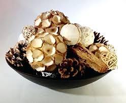 Decorative Vase Filler Balls Vase Filler Balls Winter White Balls Cones And Pods Decorative 3