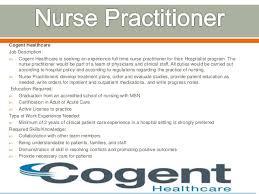 cogent healthcare job description cogent healthcare is seeking an neonatal nurse job duties