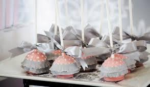 pink grey dessert table babyshower ballerina cakepops