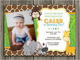 Safari Party Invitations Safari First Birthday Invitations Birthdaybuzz