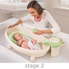 wonderful decoration baby tub with shower charming inspiration com summer infant soothing spa and bath