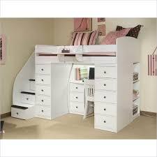 Berg Furniture Sierra Space Saver Wood Loft Twin Bed - 22-808-XX