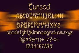 We can call it demonic, satanic, or void, or sometimes hacked text too. Cursed Font By Dmytroyarish Creative Fabrica