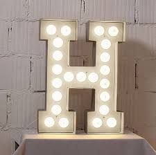 lighting letters. alphabet hollywood light lighting letters m
