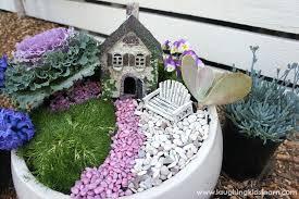fariy garden. Gorgeous And Simple Fairy Garden Fariy
