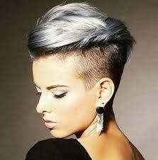 ženské Modelové účesy Pro Krátké Vlasy Foto