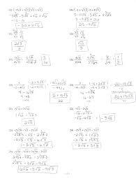 radical equations worksheet