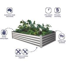 raised garden bed bunnings