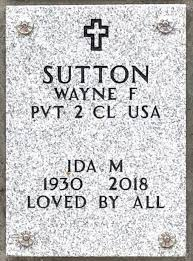 Ida M Sutton (1930-2018) - Find A Grave Memorial