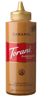 Be sure to shake this one before you use it as the spice likes to settle. Torani Puremade Caramel Sauce Mocha And Dessert Topping 16 5oz Walmart Com Walmart Com