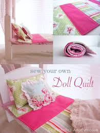 Craftaholics Anonymous® | Doll Quilt Tutorial & doll quilt tutorial Adamdwight.com