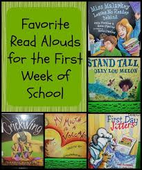 favorite read alouds for the first week of teaching fourth teacher and books