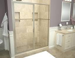 tiled shower enclosures bathtub replacement shower pan tile shower door installation