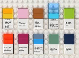 Lego Brick Colour Chart Pantone Fashion Color Report Reveals Trending Colors For The